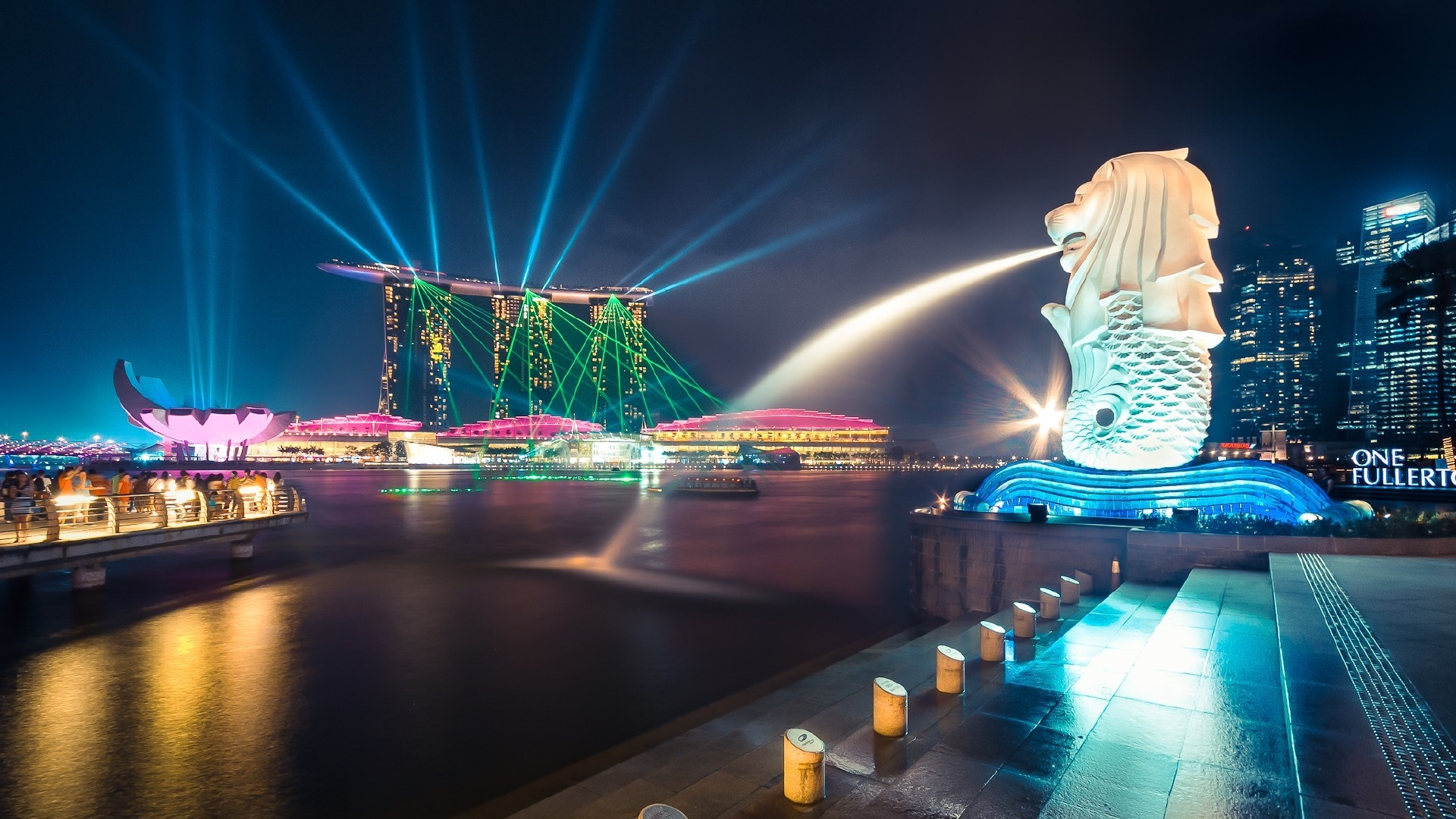 the-merlion-singapore-wallpaper